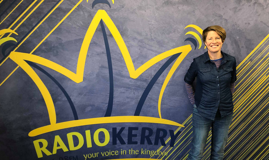 Radio Interview: Lisa Fingleton in Conversation With Joe McGill, Radio Kerry, 10th April, 2019
