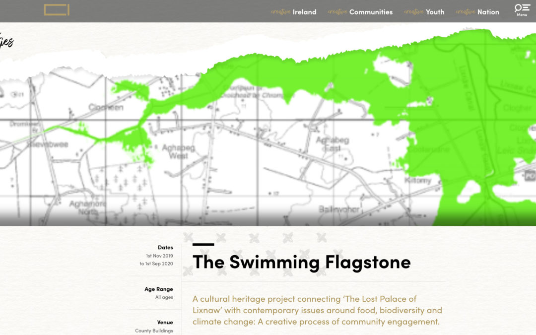 Leic Snámha /The Swimming Flagstone: Creative Communities Project 2020