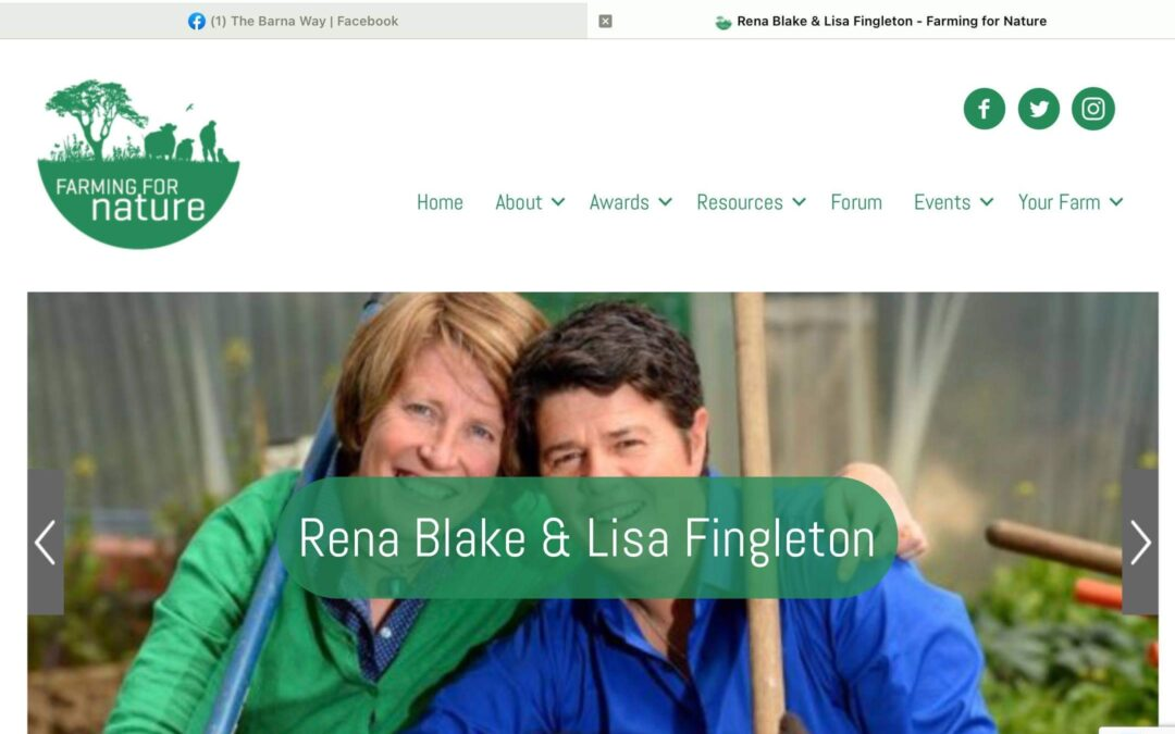 Farming For Nature Awards Nomination for The Barna Way 2021