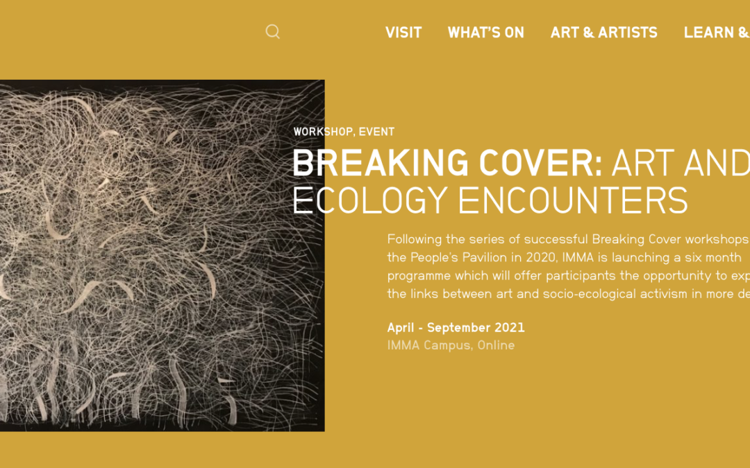 Breaking Cover: Art and Ecology Encounters at IMMA